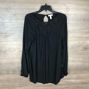 3/$25🛍️ Liz Lange Maternity Long Sleeve Tunic Top